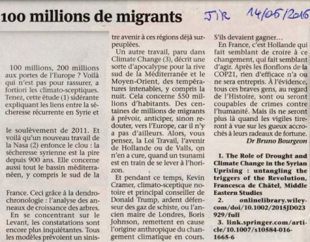 Cent millions de migrants JIR 20160614